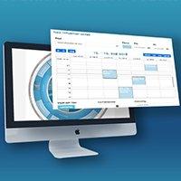 Verdens første digitale årshjul - nu med en integreret cirkulær kalender i årshjulet
