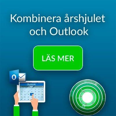 Kombinera årshjulet och Outlook. Prova Plandisc gratis
