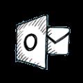 outlook-ikon-hvid