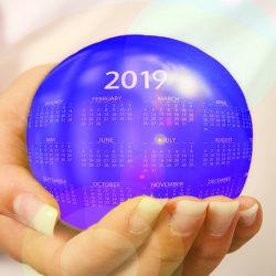 Hvis året var en cirkel, hvordan vil det så se uud?