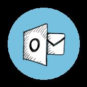 Outlook og det digitale årshjul. ikon