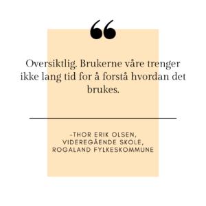 Thor Erik Olsen sitat plandisc